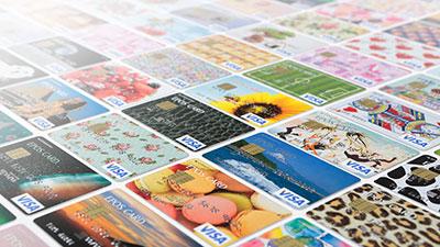 種類豊富なデザインカード