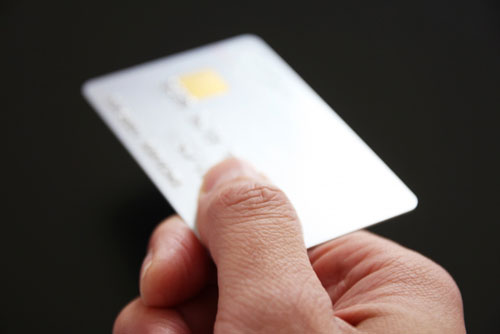 クレジットカードを使う